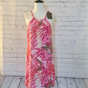New Tommy Bahama Rayon Floral Print Dress XS